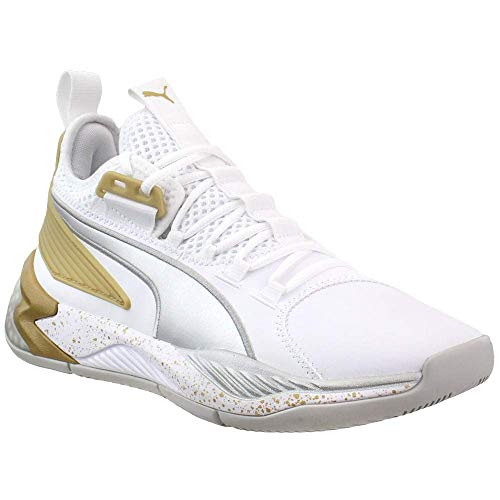 PUMA Mens Uproar Core Basketball Sneakers Shoes Casual - White -...
