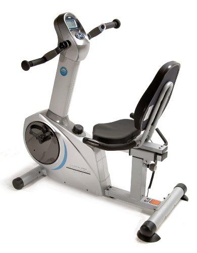 Stamina Elite Total Body Recumbent Bike, Metallic grey