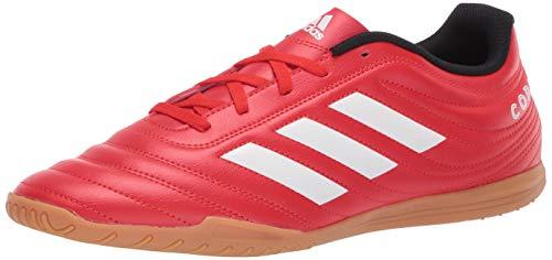 adidas Men's Copa 20.4 Indoor Boots Soccer Shoe, Active red/FTWR...