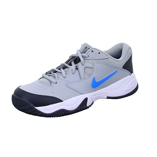 Nike Men's Court Lite 2 Tennis Shoe, Light Smoke Grey/Blue...