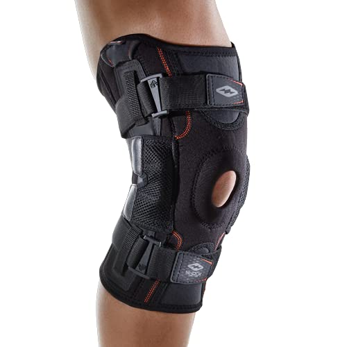 Hinged Knee Brace: Shock Doctor Maximum Support Compression Knee...