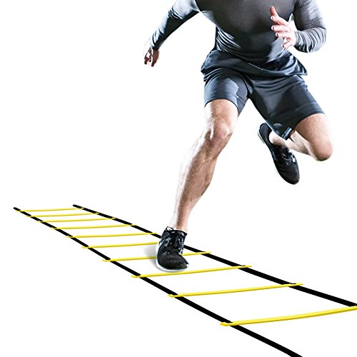 GHB Pro Agility Ladder Agility Training Ladder Speed 12 Rung 20ft...