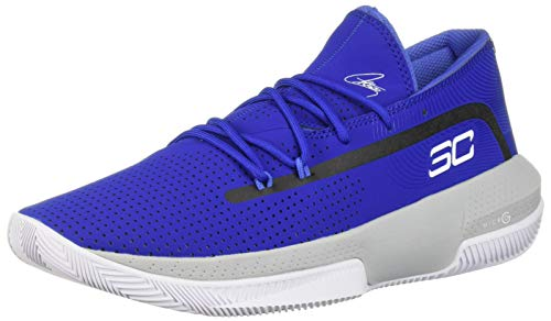 Under Armour Men's SC 3ZER0 III Basketball Shoe, Royal (400)/Mod...