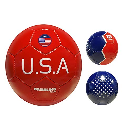 DRB DRIBBLING Soccer Ball Countries - Size N° 2 - Machine Sewed...