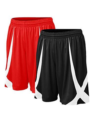 TOPTIE Men's Lounge Walking Shorts Pajama Active Shorts, Flag...