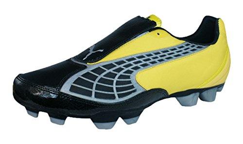 PUMA V2.10 i HG Mens Soccer Boots/Cleats-Black-8