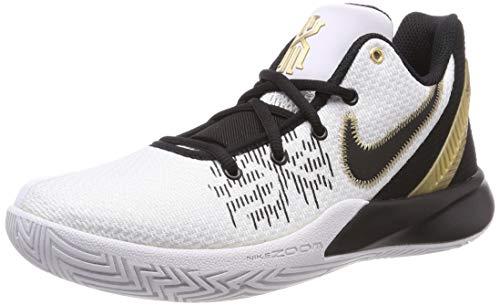 Nike Men's Kyrie Flytrap II Basketball Shoes, White/Metallic...