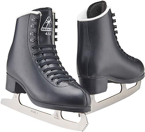Jackson Ultima Black Figure Ice Skates for Men/Size: Adult 8