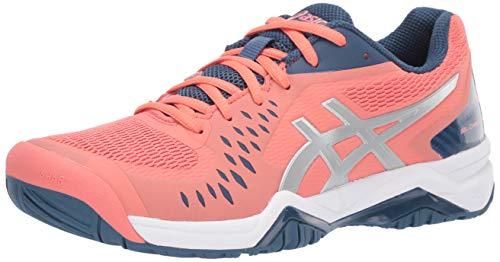 ASICS Women's Gel-Challenger 12 Tennis Shoes, 7M, Papaya/Grand...