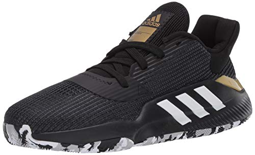 adidas Men's Pro Bounce 2019 Low Basketball Shoe, Black, 7