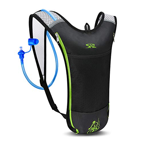 SKL Hydration Pack Water Backpack with Water Bladder 2L BPA Free...