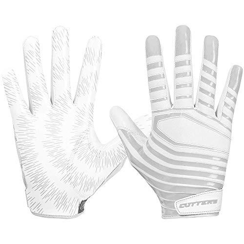 Cutters Gloves Rev 3.0 Receiver Gloves, White, Medium