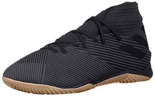 adidas Men's Nemeziz 19.3 Indoor Soccer Shoe, Utility Black, 9.5...