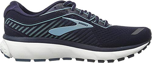 Brooks Women's Race Running Shoe, Navy Stellar Blue, 7.5 us