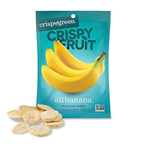 Crispy Green Freeze-Dried Fruit, Single-Serve, Banana, 0.53 Ounce...