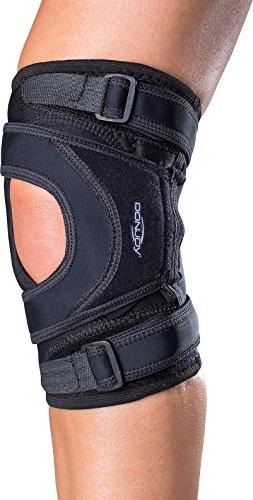 DonJoy Tru-Pull Lite Knee Support Brace: Right Leg, Medium