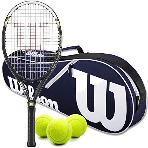 Wilson Hyper Hammer 5.3 110 Pre-Strung Recreational Tennis...