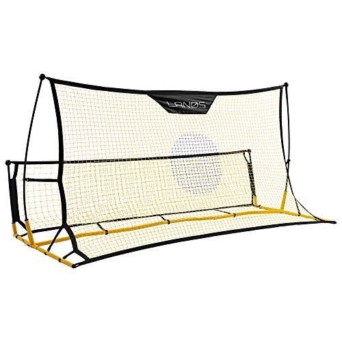 Lanos Portable Soccer Goals with Rebounder - Lightweight Soccer...