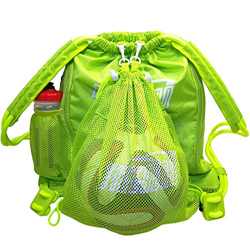 Tigerbro Soccer Bag Soccer Backpacks with Ball Holder Compartment...