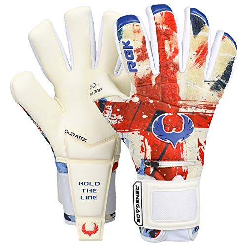 Renegade GK Limited Edition Rogue Patriot UK Goalie Gloves with...