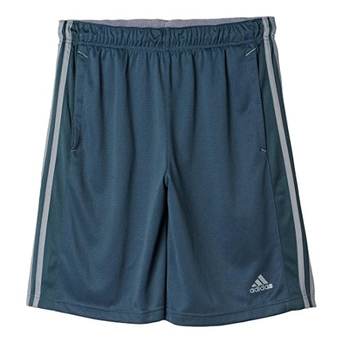 adidas Men's Essentials 3-Stripe Shorts, Bold Onix/Grey, Large...