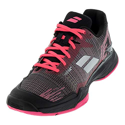 Babolat Women's Jet Mach II Clay Court Tennis Shoes, Pink/Black...