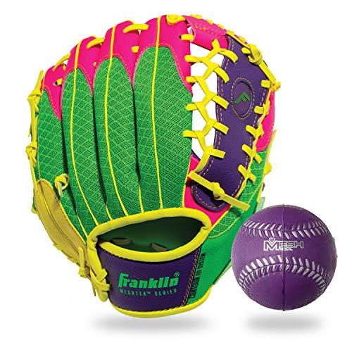 Franklin Sports Kids Baseball Gloves - Meshtek Child's Tball...