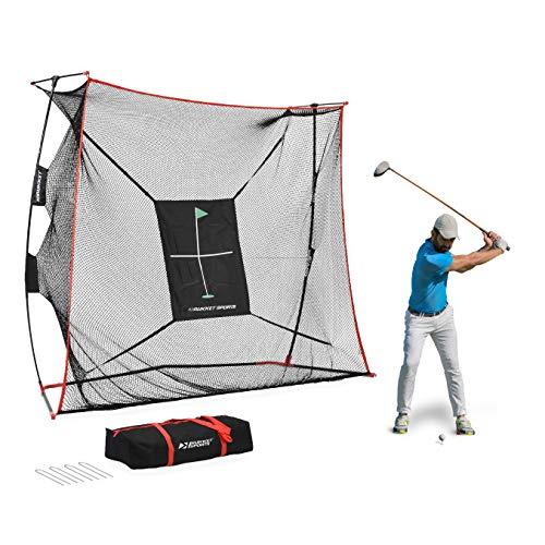 Rukket 9x7x3ft Haack Golf Net Pro | Practice Driving Indoor and...