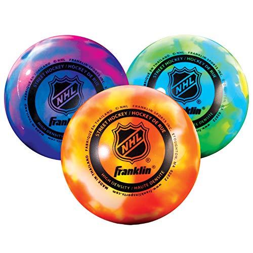 Franklin Sports Street Hockey Balls, Low Bounce, Warm Weather ,...
