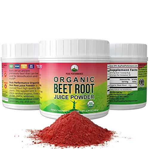 Organic Beet Root Powder - Highest Quality Super Food Beets Juice...