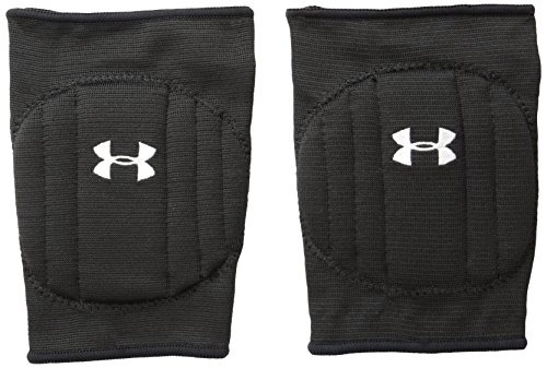 Under Armour Unisex Armour Volleyball Knee Pad, Black/White,...
