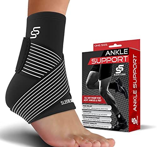 Sleeve Stars Ankle Brace for Plantar Fasciitis - Ankle Wrap Heel...