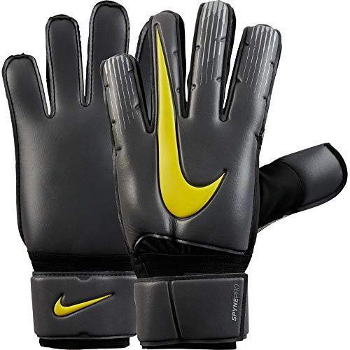 Nike Spyne Pro Soccer Goalkeeper Gloves (8, Gray/Yellow)