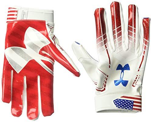 Under Armour Men's F6 Novelty Gloves, White//Midnight Navy,...