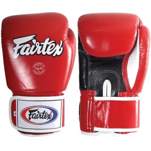 Fairtex Muay Thai-Style Sparring Glove,Red,16 oz