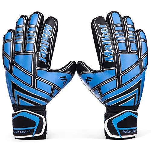 Malker Soccer Goalie Gloves Goalkeeper Gloves with Fingersave and...