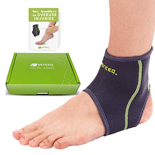 Ankle Brace Men and Women Compression Support - Sprained Ankles...