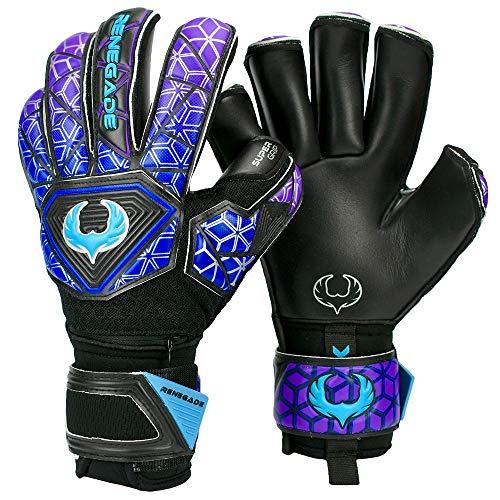 Renegade GK Vortex Strom Goalie Gloves | 3.5+3mm Hyper Grip & 4mm...