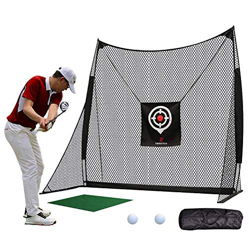 FRANKTECH Golf Net Golf Hitting Net for Backyard Driving Range...