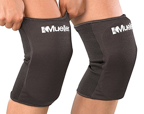 Mueller Multi-Sport Knee Pads, 1 Pair, Black, One Size Fits Most