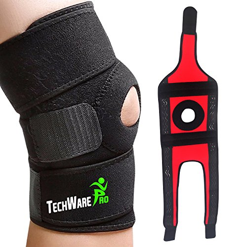TechWare Pro Knee Brace Support - Relieves ACL, LCL, MCL,...