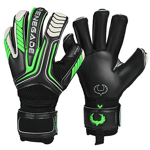 Renegade GK Vulcan Abyss Goalie Gloves with Pro-Tek Finger Spines...