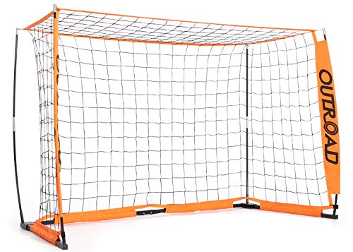 Outroad Portable 6x4 FT Soccer Goal for Backyard, Practice Small...