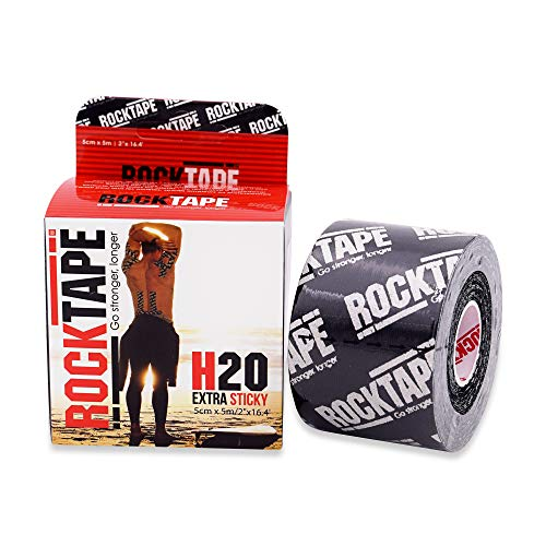 RockTape H2O 2-Inch Highly Water-Resistant Kinesiology Tape,...
