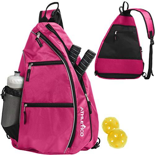 Athletico Sling Bag - Crossbody Backpack for Pickleball, Tennis,...