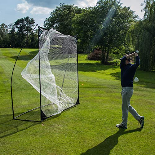 QUICKPLAY Quick-Hit Ultra-Portable Golf Practice Hitting Net (1)...