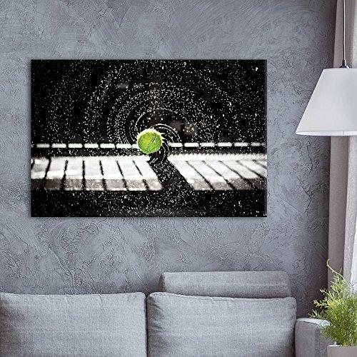 wall26 - Canvas Wall Art Sports Theme - Spinning Tennis Ball...