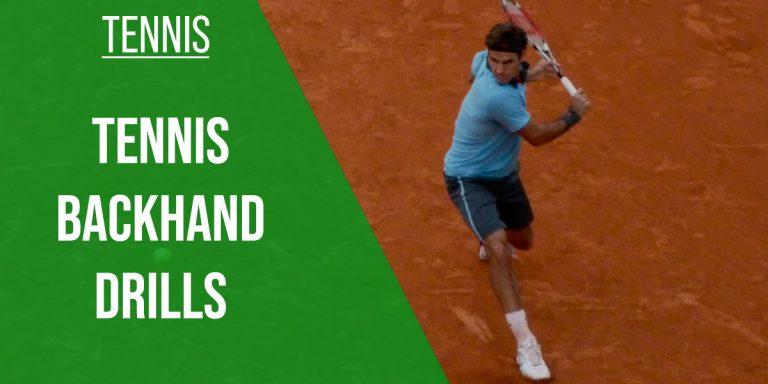 tennis backhand drills