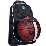 basketball bag with ball compartment