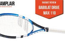 babolat drive max 110 review